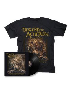 descend to acherson the transience of flesh black vinyl shirt bundle