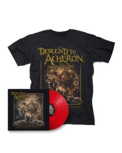 descend to acherson the transience of flesh red vinyl shirt bundle