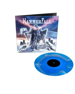 hammerfall chapter v unbent unbowed unbroken blue white vinyl