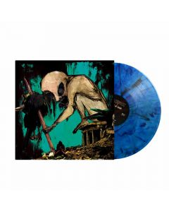 nuclear murder of crows blue marbled vinyl vinyl