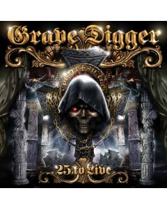 grave digger 25 to live cd dvd