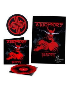ektomorf reborn die hard edition red black splatter vinyl