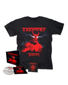 ektomorf reborn digipak cd + patch + t shirt bundle