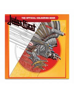 judas priest the official colouring book