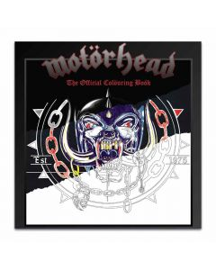 motörhead the official colouring book