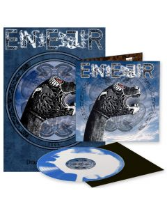 einherjer dragons of the north blue white ink spot vinyl