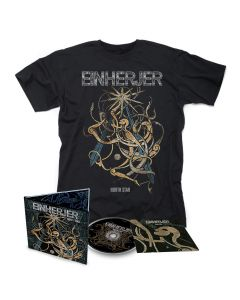 einherjer norh star cd t shirt bundle