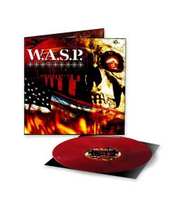 WASP Dominator black red marbled vinyl