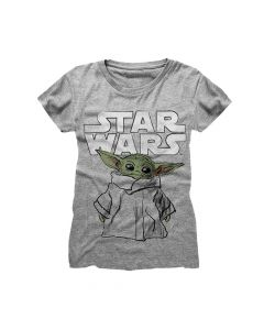 star wars the mandalorian child sketch girls shirt