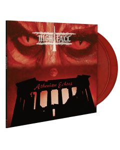 nightfall athenian echoes red black marlbed vinyl