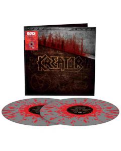 kreator under the guillotine splatter vinyl
