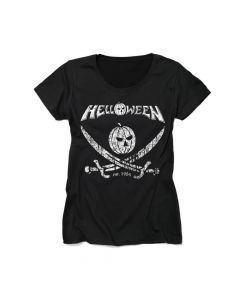 helloween pirates girls shirt