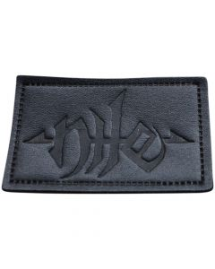 nile logo leather patch