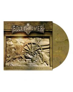 bolt thrower those once loyal oakwood brown marbled vinyl