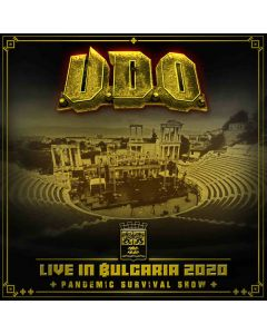 udo live in bulgaria 2020 the pandemic survival show cd dvd