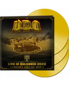 udo live in bulgaria 2020 the pandemic survival show yellow vinyl