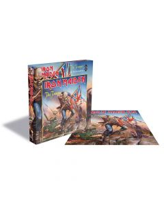 iron maiden the trooper jigsaw puzzle