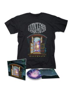 The Vintage Caravan Monuments Digipak CD + T Shirt Bundle