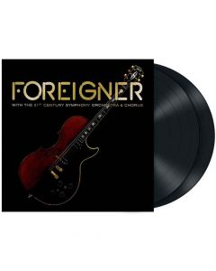 foreigner With the 21st Century Symphonic Orchestra and Chorus - Black 2- Vinyl
