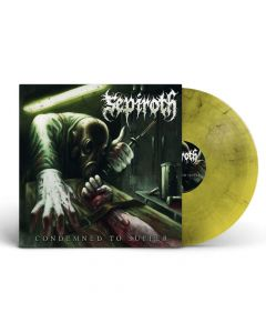 sepiroth condemned to suffer yellow black smoke vinyl