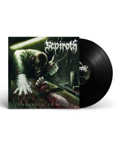 sepiroth condemned to suffer black vinyl