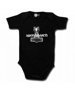 amon amarth thors hammer baby body