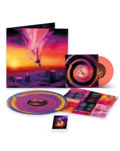 "Sumo Cyco - Initiation - Die Hard Edition: PURPLE YELLOW PINK Ink Spot Vinyl + ORANGE 7"" EP + Photo"