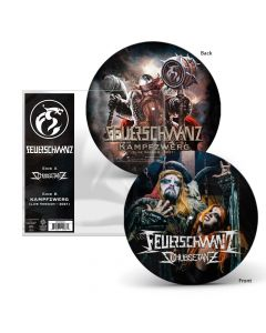 "Feuerschwanz Schubsetanz Black Metal Version 7"" Picture Vinyl"