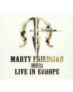 marty friedman exhibit a live in europe cd