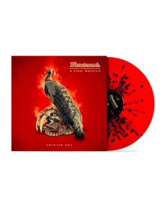 mustasch a final warning chapter one red blue splatter vinyl vinyl