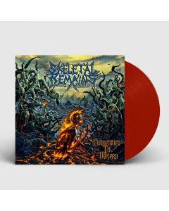 Condemned To Misery - BRICK RED Vinyl