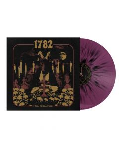 From The Graveyard - VIOLETT SCHWARZES Splatter Vinyl