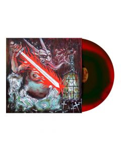 Vigorous And liberating Death - GREEN RED Swirl Vinyl