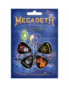Rust In Peace - Plectrum Pack
