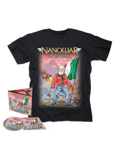 Italian Folk Metal - Digipak CD + T- Shirt Bundle