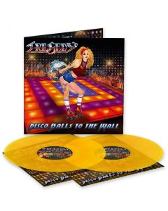 Disco Balls to the Wall - TRANSPARENT ORANGE 2- Vinyl