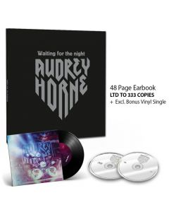 audrey horne waiting for the night digipak cd bluray