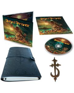 devildriver dealing with demons 1 digipak cd notebook metal symbol