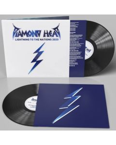 diamond head lightning to the nations 2020 black vinyl
