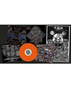 indian nightmare by ancient force neon orange lp