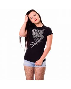 K45968 John Garcia Girls Shirt Black Anna Eibler 1