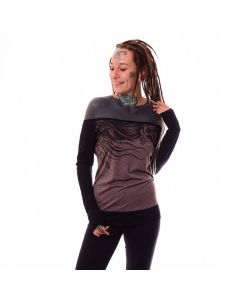 Hyraw Deesse Brown Girlie Longsleeve