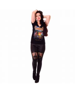 K63372 Ensiferum Girls Shirt Black Anna Eibler 14