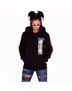 einherjer dragons of the north zip hoodie