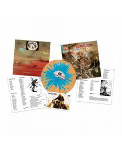The Deluge - ORANGE BLAUES Splatter Vinyl