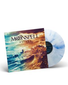Moonspell - 1755 - OCEAN BLUE WHITE Marbled Vinyl
