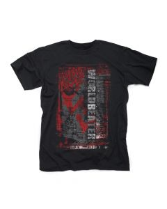 morbid angel worldbeater red arrows t-shirt - frontprint