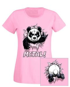 HEAVY METAL HAPPINESS - Panda Metal! / Girlie Shirt