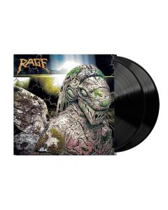rage - end of all days - black 2 lp