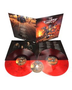 THE RODS - Brotherhood of Metal / RED 2-LP Gatefold